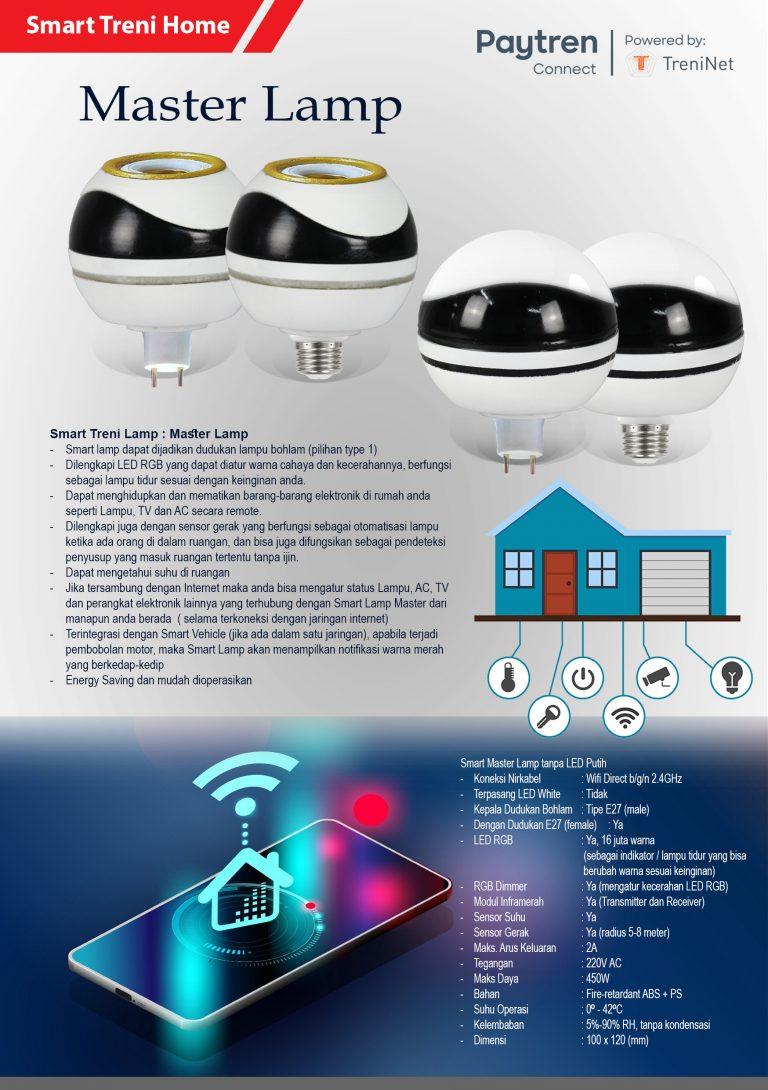 eBrosur - Smart Treni Lamp - Master